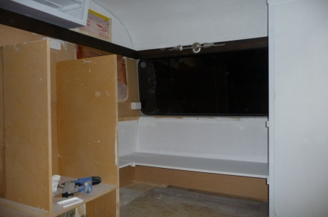 Caravan Interior (Before)