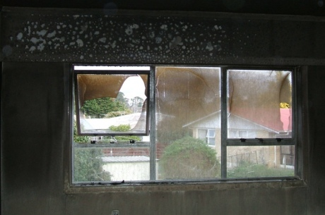 Fire Insurance Claim Windows (Before)