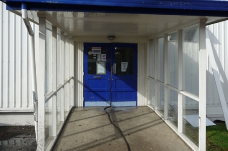 Commercial Entrance (Before)