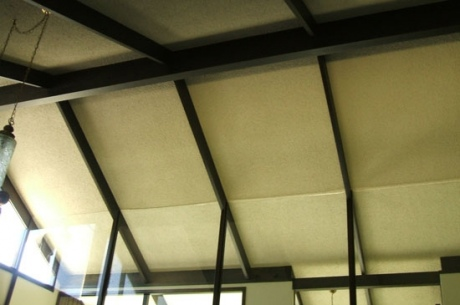 High Textured Ceiling (Before)
