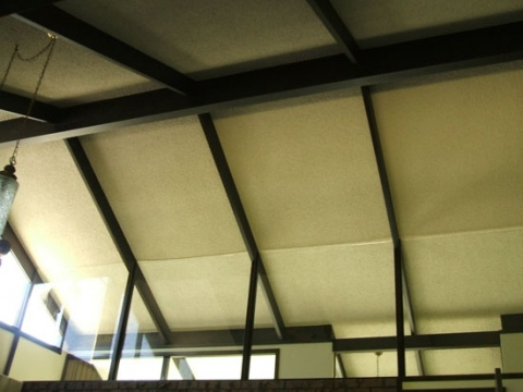 High Textured Ceiling
