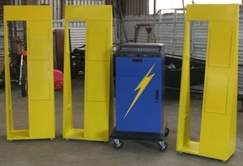 Spray Painting Displays